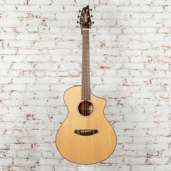 Breedlove Pursuit Concert CE Acoustic/Electric Guitar Red Cedar-Mahogany Natural x8967