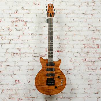 KZ-One Standard Orange Flame Maple Top Electric Guitar (USED) x0061