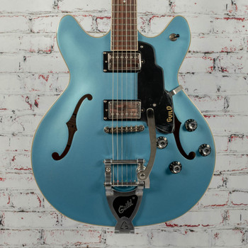 Guild Starfire I Double Cut Newark Series Electric Guitar Pelham Blue x1064