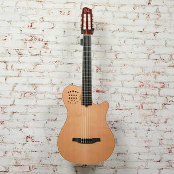 Godin Multiac Grand Concert Deluxe Hybrid Classical Guitar Natural x5133