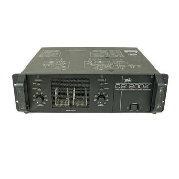 Peavey CS800X Power Amp Rackmount (USED) x8211