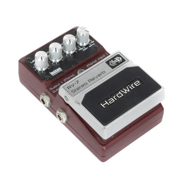Hardwire RV-7 Stereo Reverb Pedal (USED) x9492
