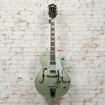 Gretsch 2015 G5420T Electromatic Hollow Body Single Cut w/Bigsby Electric Guitar Aspen Green (USED) x3045