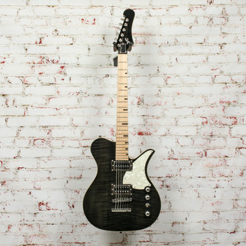 First Act Sheena FM Set Neck Electric Guitar Black x2507 (USED)
