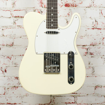 Corbin T-Style Electric Guitar White x0820 (USED)