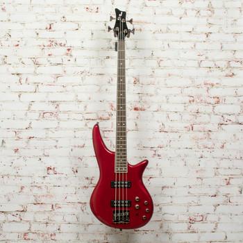 Jackson JS Series Spectra IV Bass JS3, Laurel Fingerboard, Metallic Red x9712
