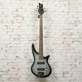 Jackson JS Series Spectra Bass JS3V, Laurel Fingerboard, Silverburst x0531
