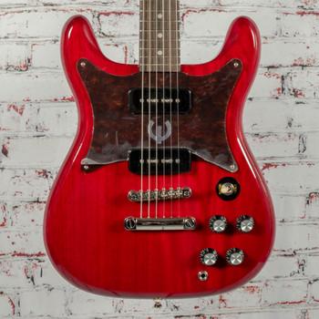 Epiphone Wilshire P-90s Electric Guitar Cherry x0517