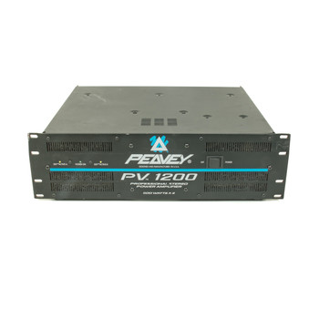 Peavey PV1200 Power Amp Rackmount (USED) x5527