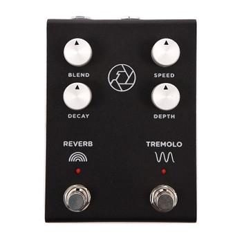 Milkman F-Stop Reverb/Tremolo Pedal, Black