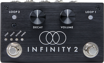Pigtronix Infinity Looper 2 Stereo Looping Effects Pedal Black