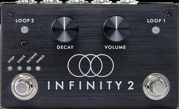 Pigtronix Infinity Looper 2 Stereo Looping Effects Pedal Black
