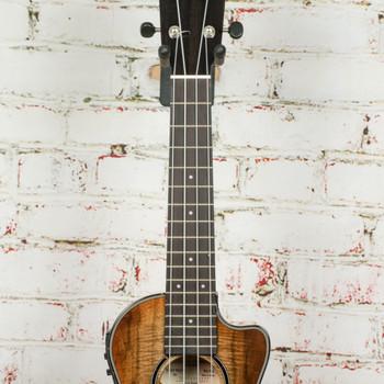 Breedlove Lu'au Acoustic/Electric Concert Ukulele Natural Shadow All-Myrtle CE x4377