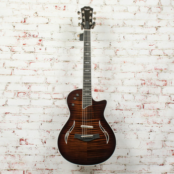 Taylor T5Z Pro Hybrid Electric/Acoustic Guitar Gaslamp Black (DEMO) x9123