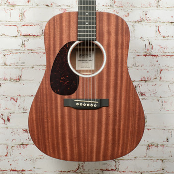 Martin DJR-10 Left-Handed Acoustic Guitar Cherry Sapele Natural x3648
