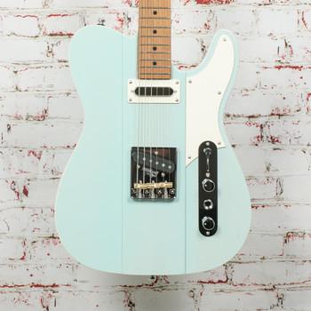 Reverend Greg Koch Signature Gristlemaster Electric Guitar Trans Blucifer x3986