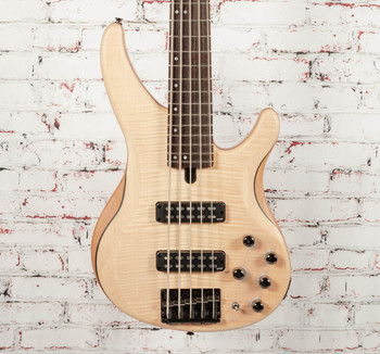 Yamaha TRBX605 5-String Bass Natural Satin x3432