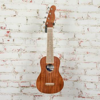 Fender Seaside Soprano Ukulele, Walnut Fingerboard, Natural - Demo - CYN1926162