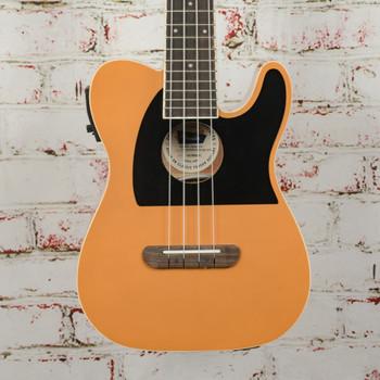 Fender Fullerton Tele® Uke, Butterscotch Blonde - DEMO - CAU1900453