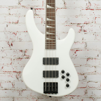 Jackson Pro Series Signature Chris Beattie Concert Bass Snow White x9280