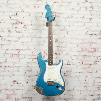 Fender Custom Shop 1969 Stratocaster - Reverse Headstock - Lake Placid Blue x1559