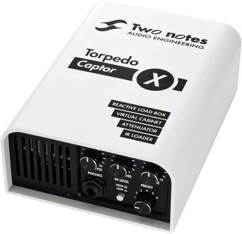 Two Notes Torpedo Captor X -Reactive Loadbox DI and Attenuator - 16-ohm