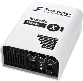 Two Notes Torpedo Captor X -Reactive Loadbox DI and Attenuator - 16-ohm