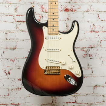 Fender USA Parts Stratocaster 3-Color Sunburst (USED) x7802