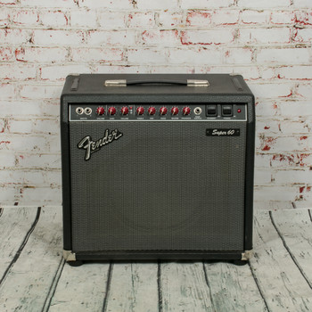 Fender Super 60 Tube Guitar Combo Amp x5225 (USED)