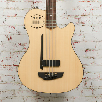 Godin A4 Ultra Fretted Bass Guitar - Natural x4248 (USED)