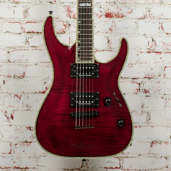 ESP Ltd Deluxe H1000 Electric Guitar Black Cherry x6997 (USED)