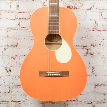 Recording King Dirty 30's Series 7 Single 0 RPS-7 Acoustic Guitar Monarch Orange x1898