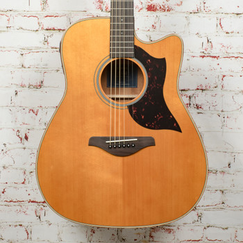 Yamaha A1M Dreadnaught Acoustic Guitar Mahogany Vintage Natural x0510