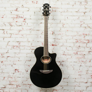 Yamaha APX600 Acoustic/Electric Guitar Black x7461