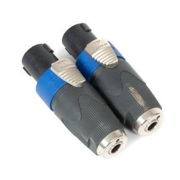 Neutrik NL4LJX 1/4 to Speakon Adapter (USED) x0888