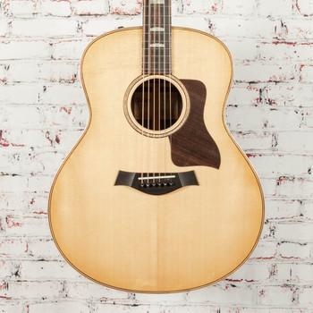 Taylor 818e V-Class Acoustic/Electric Guitar Natural x1134