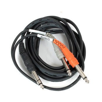 """1/4"""" Y Cable Male-Male (USED) x1244"""