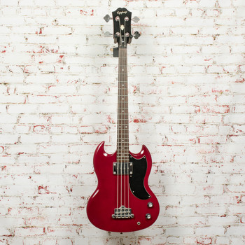 Epiphone EB-0 Electric Bass Cherry Red x3056 (USED)