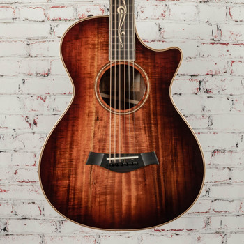 Taylor K22ce 12-Fret Acoustic/Electric Guitar Shaded Edgeburst x1105