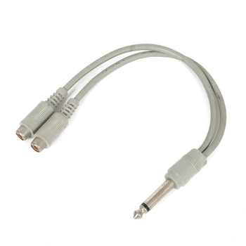 "1/4"" Mono Y-Cable (USED) x1264"