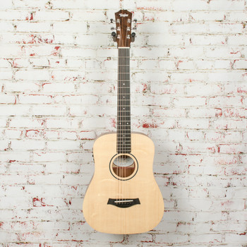 Taylor BT1e Baby Taylor Acoustic/Electric Guitar Natural x1044
