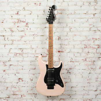 Squier Contemporary Stratocaster® HH FR, Roasted Maple Fingerboard, Black Pickguard, Shell Pink Pearl x0685