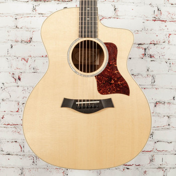 Taylor 214ce-K Deluxe Cutaway Sitka/Koa Natural Acoustic-Electric x1468