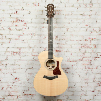 Taylor 412ce-R V-Class Acoustic-Electric Guitar - Natural x1067