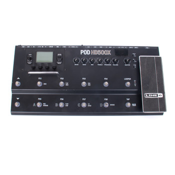 Line 6 POD HD500X Guitar Multi-Effects Floor Processor (USED) x7844