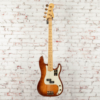Fender 75th Anniversary Commemorative Precision Bass®, Maple Fingerboard, 2-Color Bourbon Burst x8597
