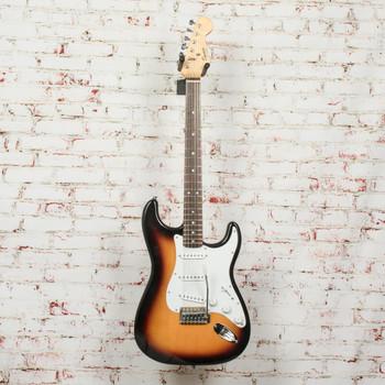 Squier Bullet Strat Electric Guitar Tobacco Brown Sunburst x7314 (USED)