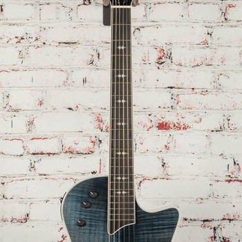 Taylor T5Z Pro Acoustic Electric Hybrid Guitar with Flamed Top in Pacific Blue x1184