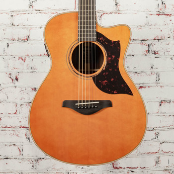 Yamaha AC3R ARE Concert Cutaway Acoustic Electric Guitar - Vintage Natural x0118