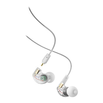 M6 Pro 2ND Generation Noise-Isolating Musician's In-Ear Monitors With Detachable Cables - Clear